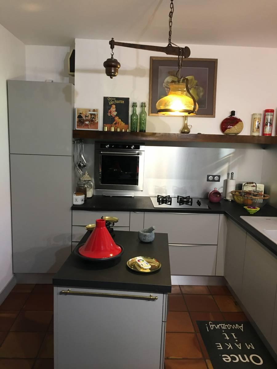 Quel Est Le Meilleur Cuisiniste Rapport Qualité Prix vente d'une cuisine coloris gris mat modèle vitoria à